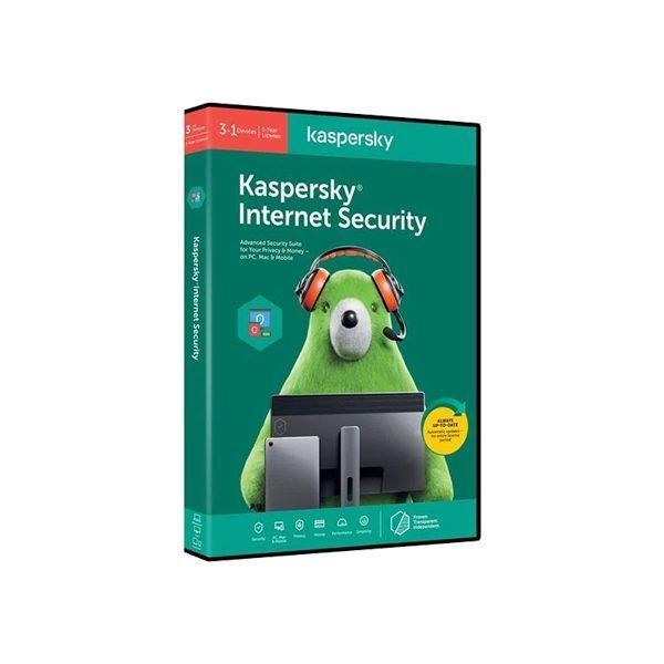 Kaspersky Internet Security 3 user + 1 free user