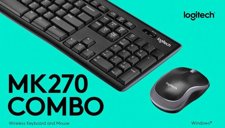 Wireless Keyboard and mouse combo logitech M270