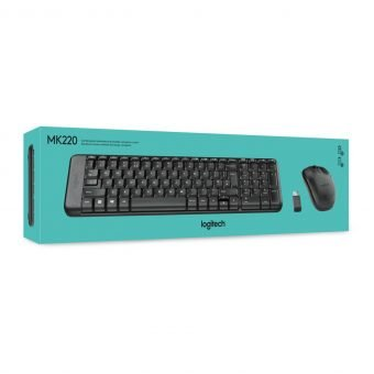 Wireless Keyboard and mouse combo logitech M220