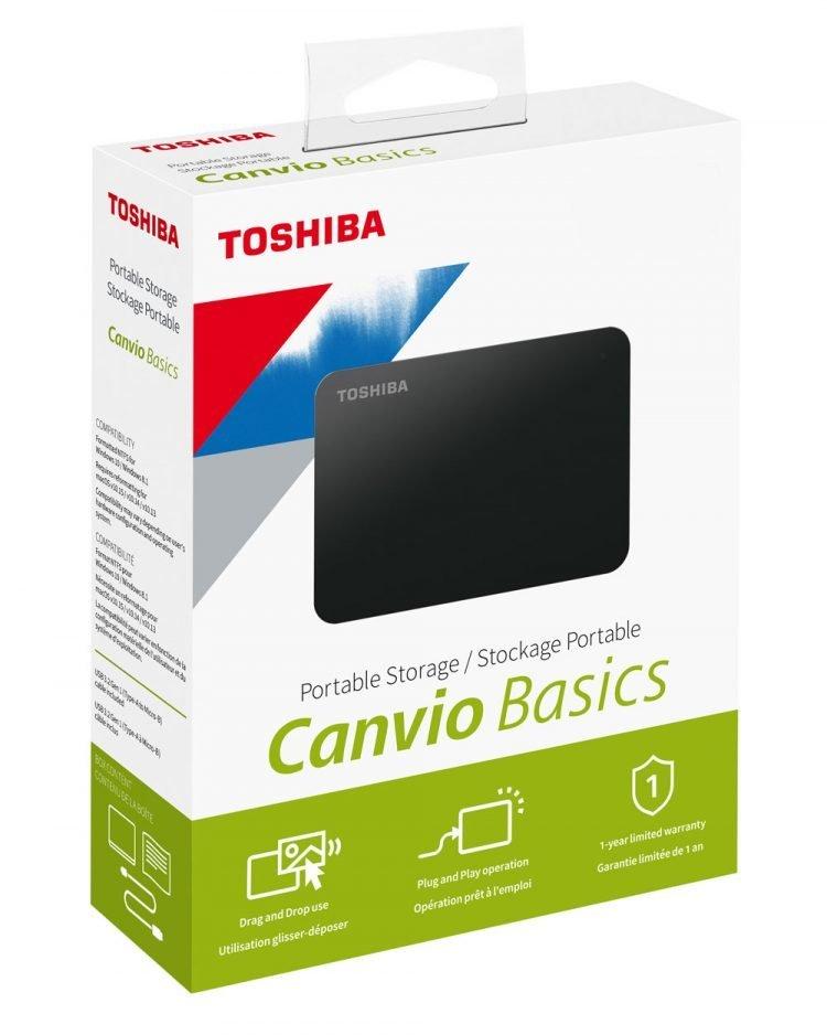 canvio basics packaging 4tb